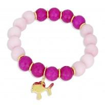 LollyPop Pink - jadeit - rybka