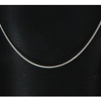 Łańcuszek srebrny splot PANCERKA diamentowana PD35