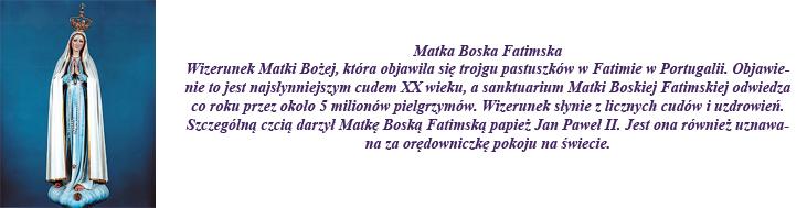 MATKA BOSKA FATIMSKA