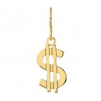 $ Dolar $ srebrny pozłacany