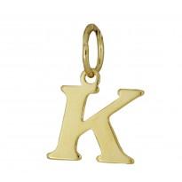 Literka pozłacana K
