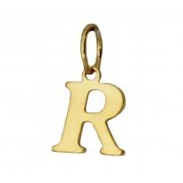 Literka pozłacana R