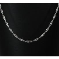 Łańcuszek srebrny splot SINGAPUR